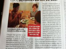 On parle de Food Reporter dans le magasine Le Point !