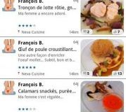 Lancement officiel des versions Android et Windows Phone de Food Reporter