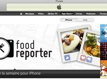 "Food Reporter sacrée ""Application de la semaine"" par Apple !"