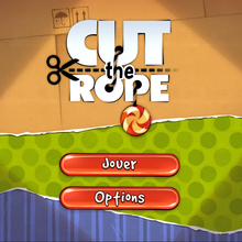 Démonstration Cut the Rope pour Windows 8