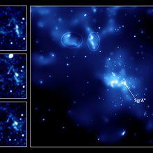 Echi luminosi nel centro galattico