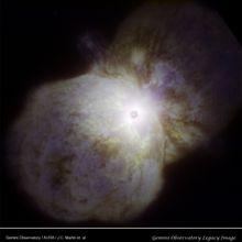 """Eta Carinae 04 / Il """"figlio"""" dell'Homunculus"""