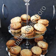 Biscuit croquants chocolat-flocons d'avoine-noix de coco