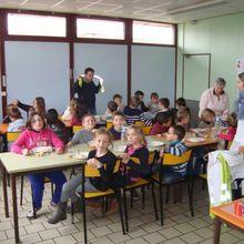 Martot : à la cantine, les écoliers sont sensibiliés au gaspillage alimentaire