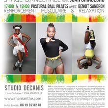 22/10/16 - Stage Dancehall avec Joan Gringesho - Marseille
