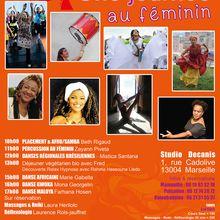 Dimanche 12 mars 2017 - Une journée au féminin - Marseille