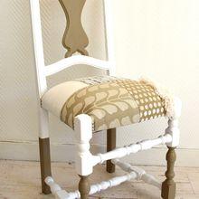 Chaise bohème romantique