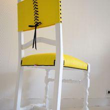 Chaise à corset