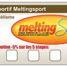 Nouveau: Pass sportif Meltingsport