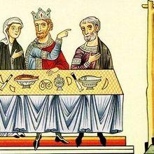 L'histoire de la Bretzel selon l'Hortus Deliciarum