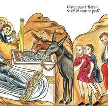 La naissance de Jésus selon Herrade de Landsberg, selon la Bible et le Coran