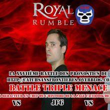 XXVIIème Battle des Pronostics (hors saison): Royal Rumble