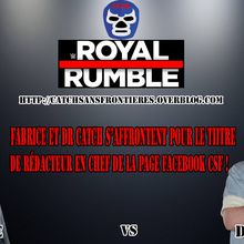 XXXIème Battle des Pronostics : Royal Rumble 2017