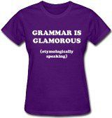 the glamour of grammar… le secret des mots.