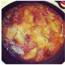 Gâteau au pommes façon tatin