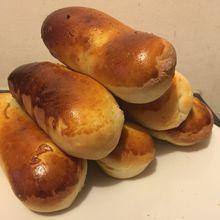 Petits pains façons hot dog avec la pâte magique 💙