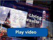 Worldwide Cost of Living survey 2009 – City ranking