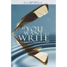 Inspirational quotes from Brenda Ueland, for writers of all abilities
