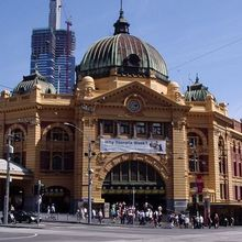 Friday Photo: Flinders Street Station is a Landmark in Which Australian City?