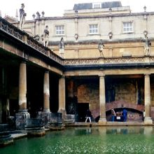 Photo Friday - Roman Baths in ... Bath