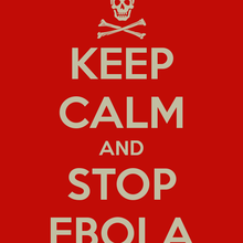 KEEP CALM AND STOP EBOLA : LES GESTES ESSENTIELS