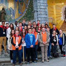Des jeunes du secteur Sarrebourg-Phalsbourg à Lourdes !