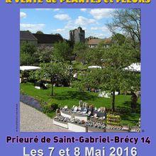 Marché de potiers Saint Gabriel Brécy 2016
