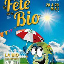 Fête de la bio 28 et 29 Mai 2016