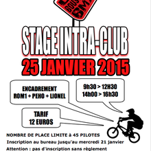 Stage intra-club !