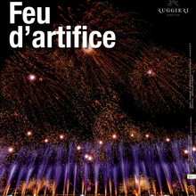 Feu d'artifice à Jarzé Villages