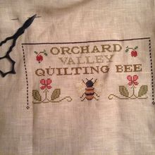 Sal Orchard Valley Quilting Bee de LHN