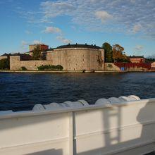La forteresse de Vaxholm en UHD 4K