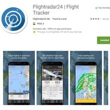 Flight Radar 24 : une appli suédoise