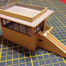 fabrication et construction de batiments, d'ouvrages d'art et d'éléments de décor en carton