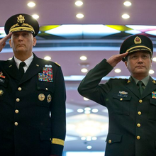 U.S. Army chief of staff meets top Chinese generals