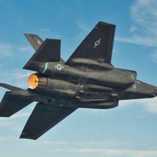 Après un incendie, les vols de F-35 suspendus pour inspection du moteur