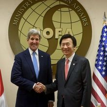 US, South Korea, Japan seek to raise pressure on North's nuclear programme