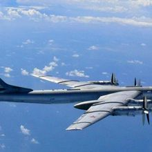 Russian Tu-95 Strategic Bomber Crashes