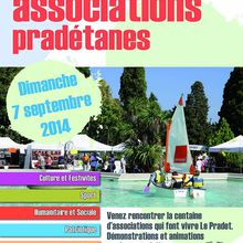 Forum des associations dimanche 7 septembre parc Cravero