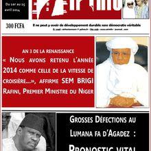 "Niger/Agadez - ""Aïr info"" n°180 est en ligne"