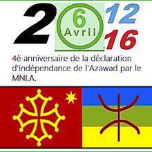 AZAWAD, déjà six années de lutte pour l'indépendance
