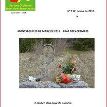 Revue occitane : Lo Lugarn n°117 est en ligne