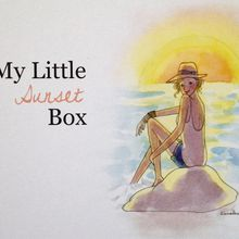 My little sunset box