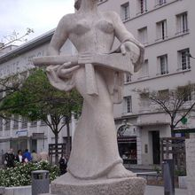 Liberty in Villeurbanne