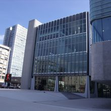 The new conference center in Nancy