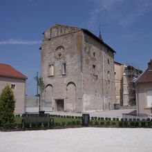 The priory building in Varangéville