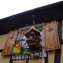 Easter decoration still in Alsace