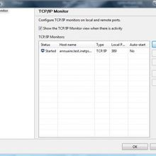 Debuggage TCP/IP ou HTTP: le plugin TCP/IP Monitor d'Eclipse