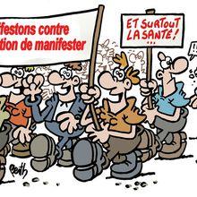Rassemblement jeudi 23 juin à 10h30 Sous-préfecture d'Alès (Gard)