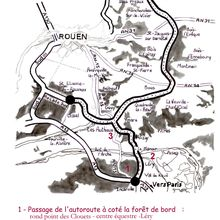 NON A L'AUTOROUTE A28-A13 !  (dit contournement Est de Rouen)
